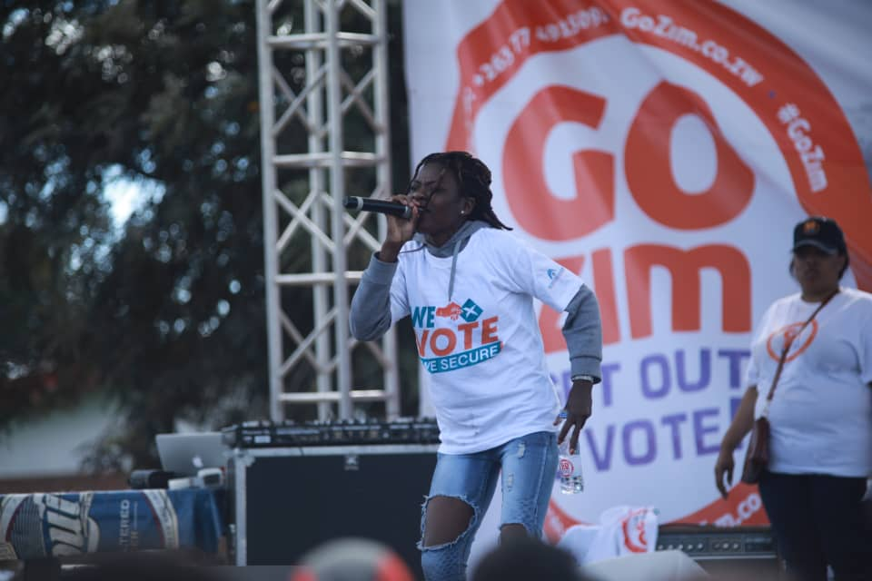 Freeman, Jah Signal And Empress Massina Share The Get Out And Vote Message In Gweru [Video & Images]