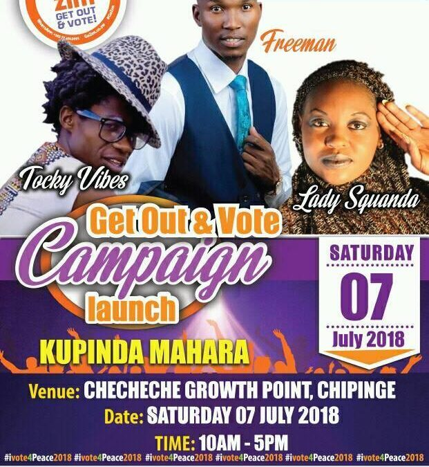 Go Zim Heads To Zaka And Chipinge This Weekend To Spread The #VoteInPeace Message