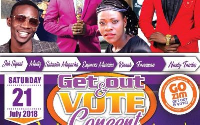 Get Out And Vote Campaign Heads To Gweru And Gwanda This Weekend